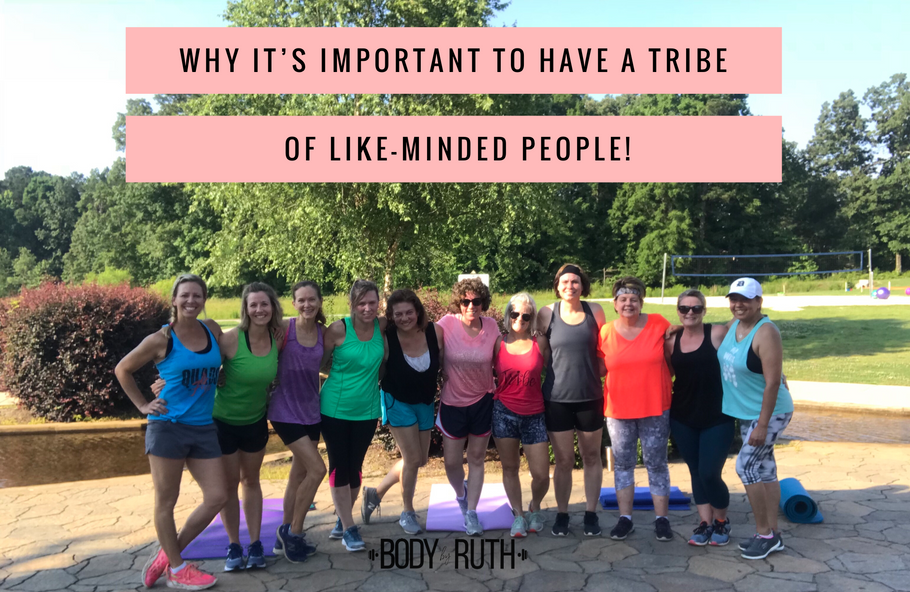 How a Tribe can boost your health, your relationship with your husband and your overall well-being.