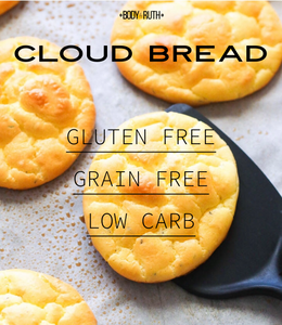 Cloud Bread Recipe, Gluten Free,  Grain Free, and Low Carb