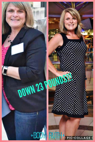 Lost over 20 pounds