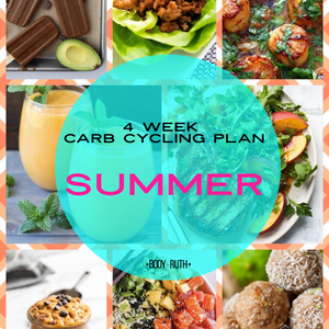 4 Week Carb Cycling Plan : SUMMER