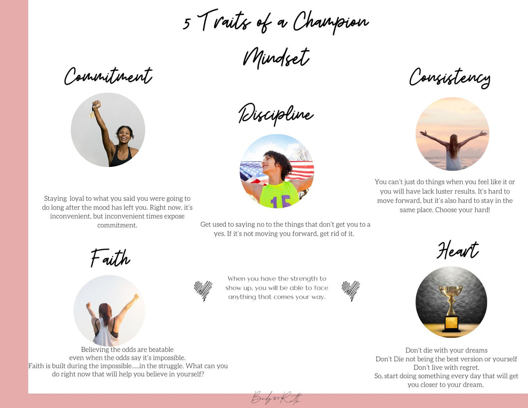 5 Traits  of a Champion Mindset