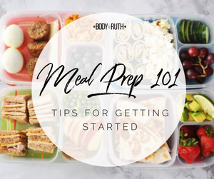 Meal Prep 101- A Beginners Guide to Meal Prep
