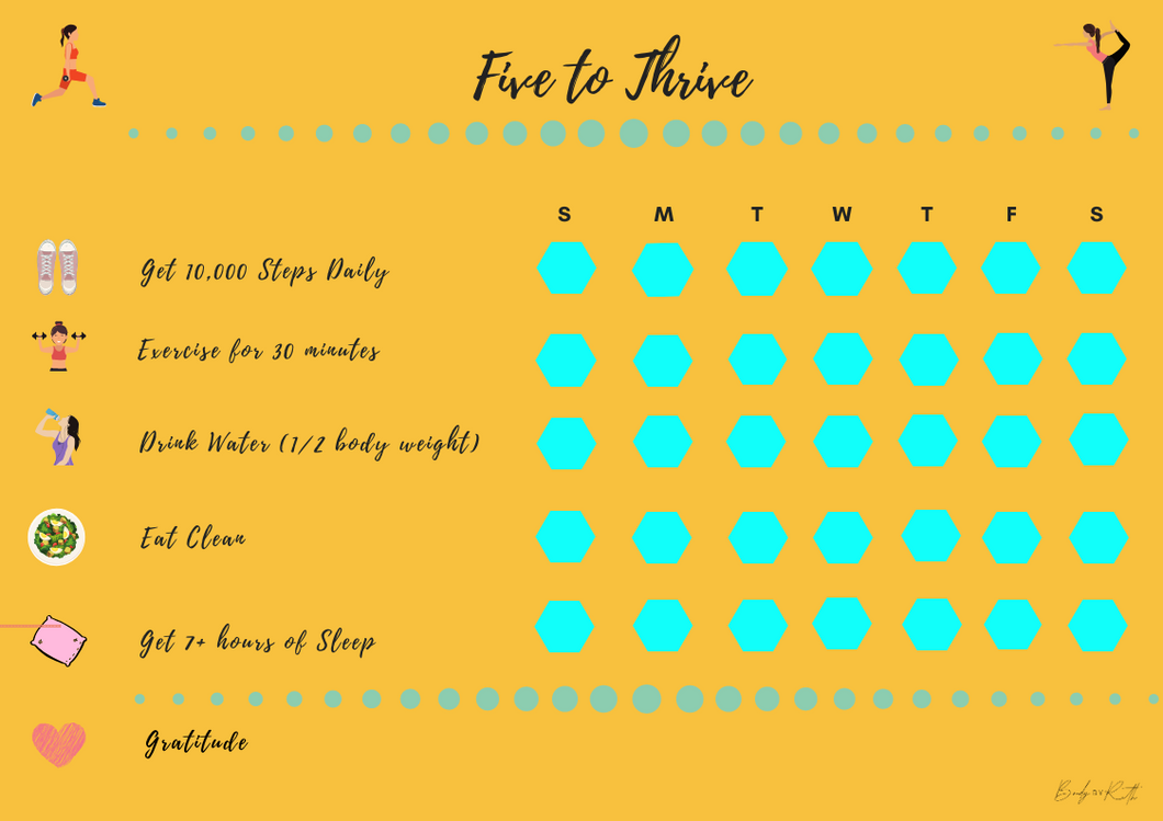 Five to Thrive FREE Downloadable