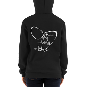 Love my Fit Mind Fit Body Fit Tribe Hoodie (Heavy)