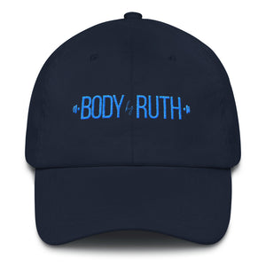 Baseball Cap with Body by Ruth Logo
