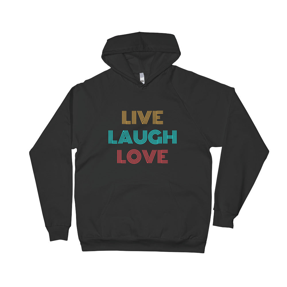 Live Laugh Love Unisex Fleece Hoodie
