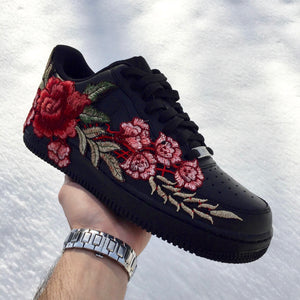 """ROSE"" AF1 LOW BLACK"