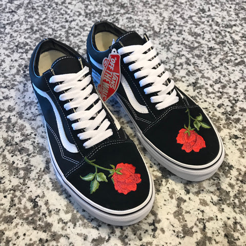 """ROSE"" VANS OLD SKOOL"