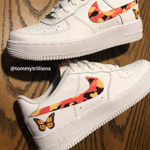 """ORANGE BUTTERFLY CAMO"" AF1 LOW"