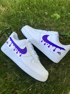 """PURPLE DRIP"" AF1 LOW"