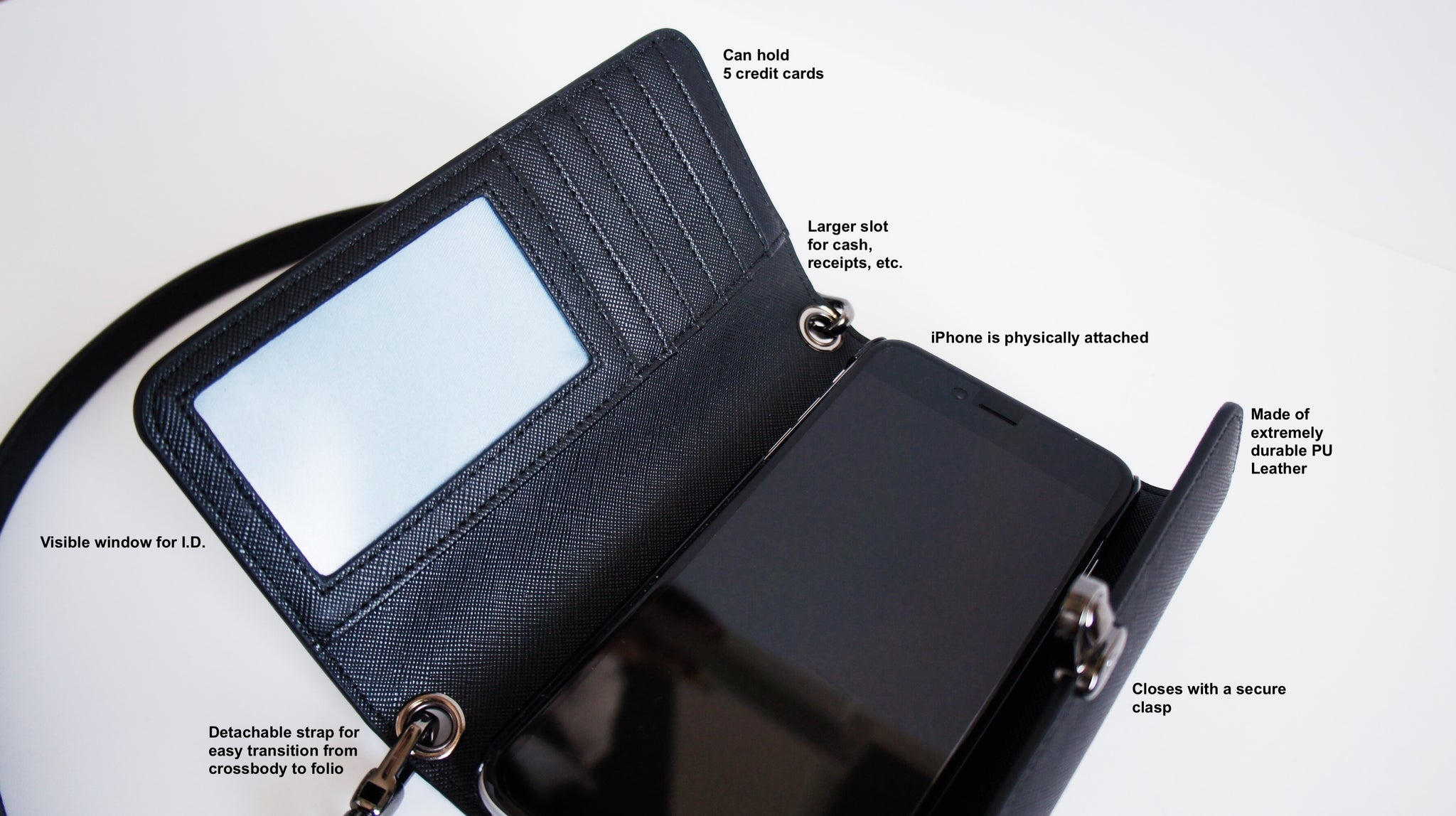 CECY iPhone Plus Cross body phone purse