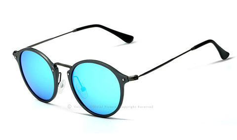 Round Polarized Men Sunglasses