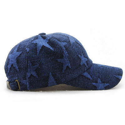 Star Printed Baseball Cap