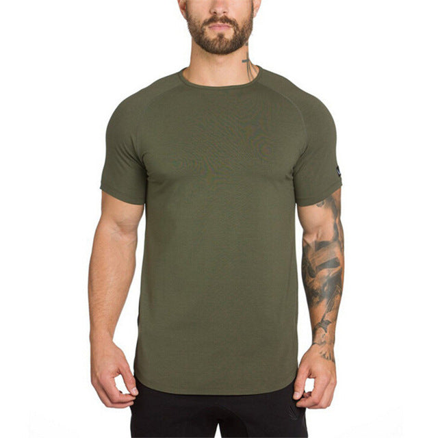 O Neck Muscle Fit  T-Shirt
