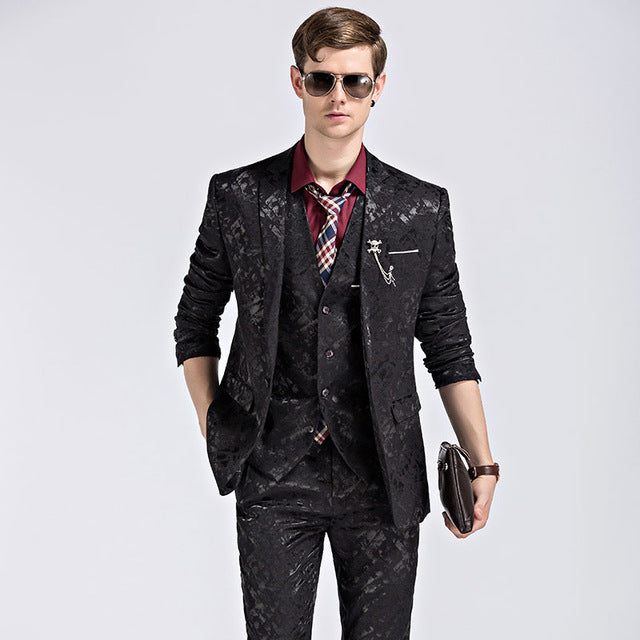 Shine Pattern Men Suite
