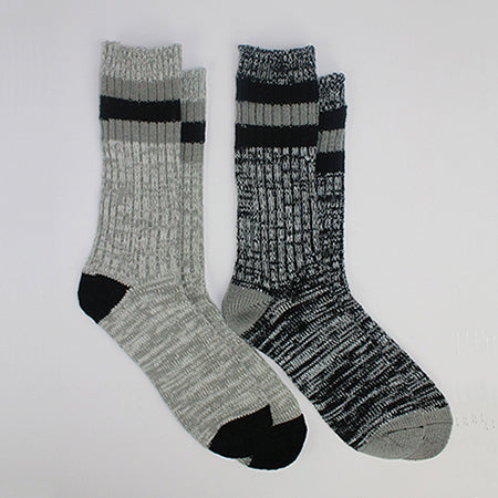 Thick Reinforced Heels &Toes Socks ( 2 Pair)