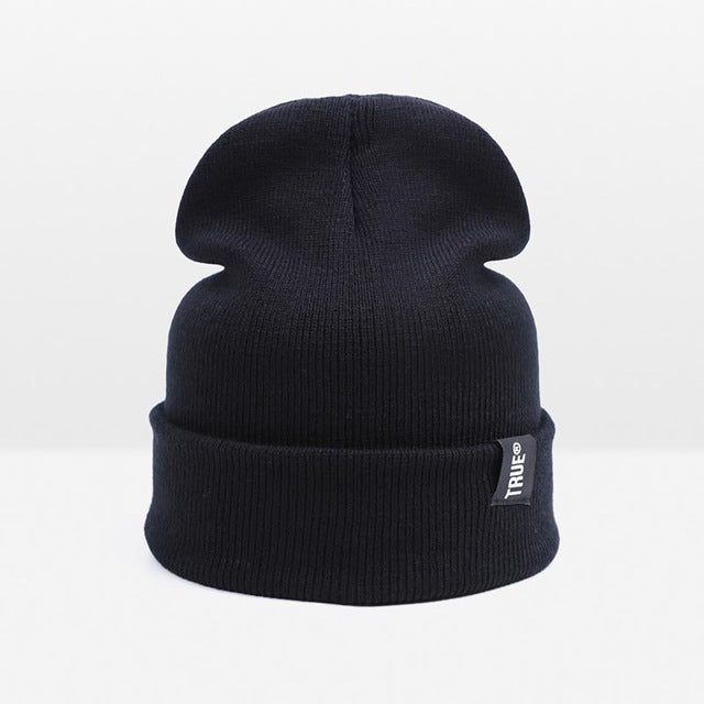WISH CLUB - Cotton Knit Beanies Hat