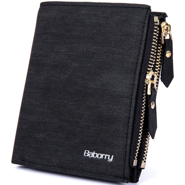 Double Zipper Coin Bag Wallet