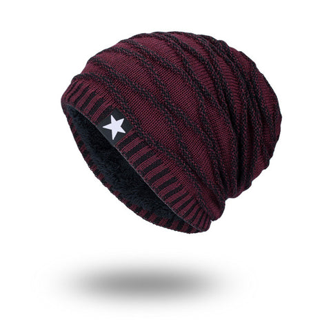 Warm Soft Skull Knitting Hat