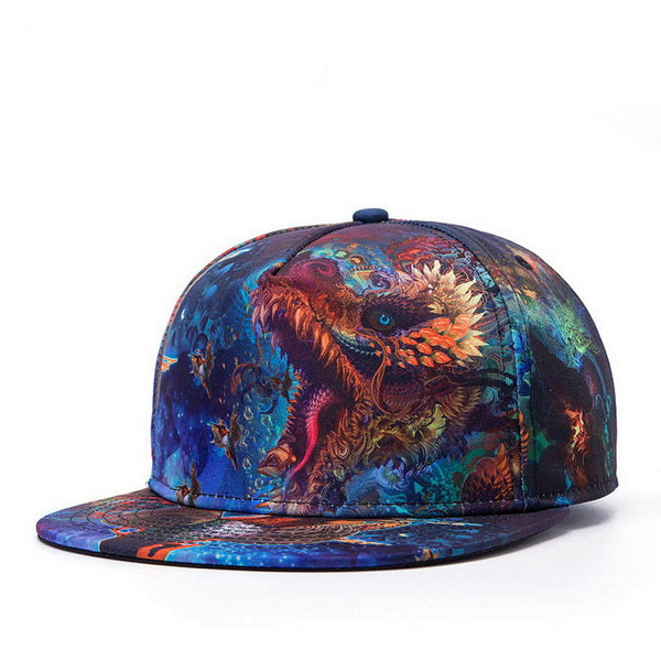 Printed Pattern Baseball Cap