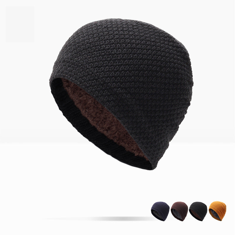 Real Solid Winter Hat