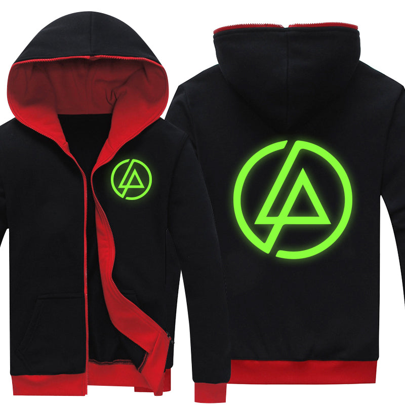 Super Cool Linking Park Logo Hooded Hoodie