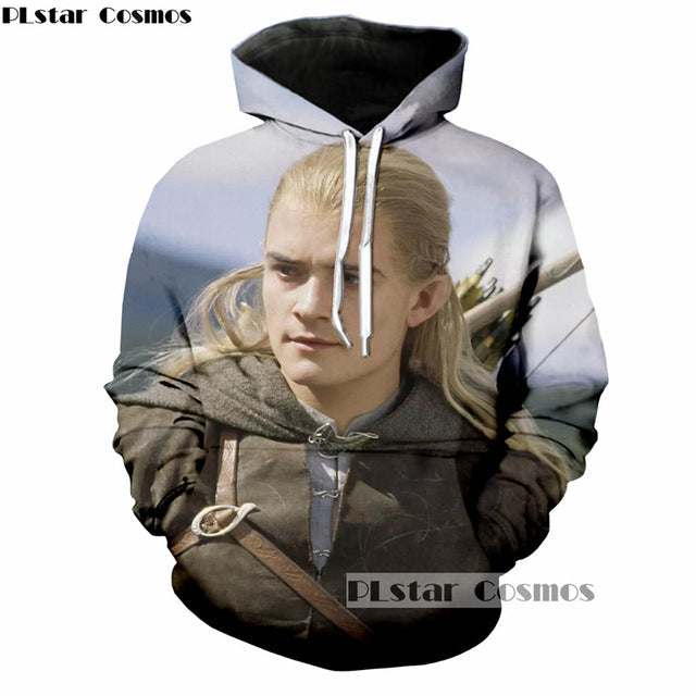 The Lord Of The Ring 3D Print Hoody