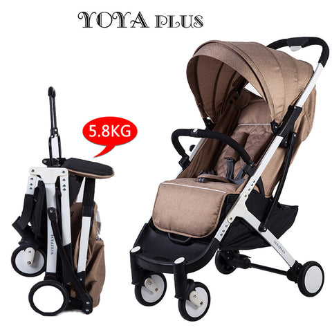 Yoya Plus LJGH - Aluminium alloy Lightweight Baby Stroller for 0-6 Year Old - 8 Colors