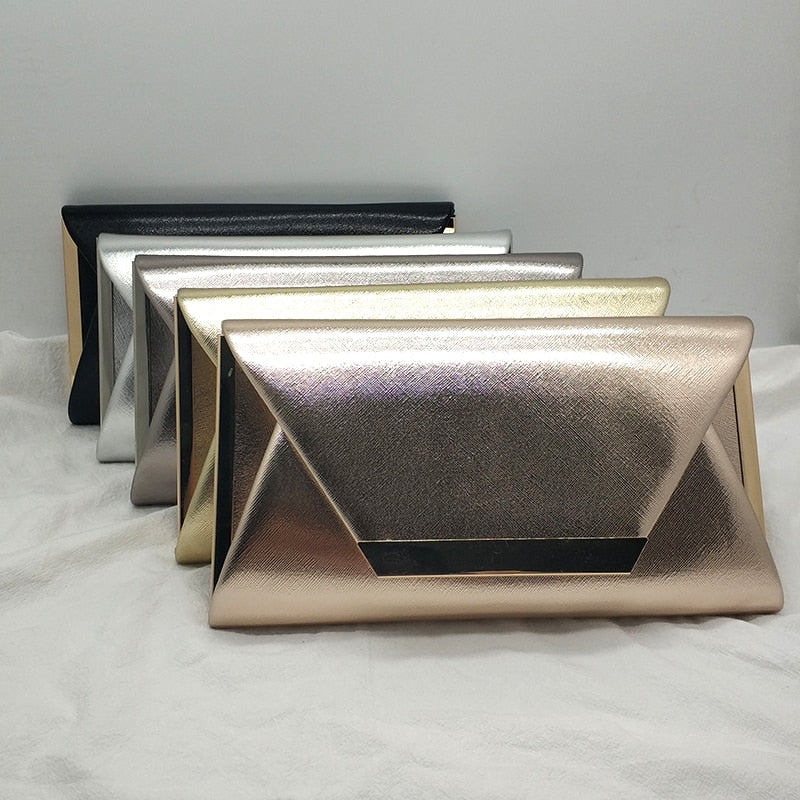 Elegant rhinestone evening clutches women bridal wedding party shoulder bag designer solid color clutches handbag party bag