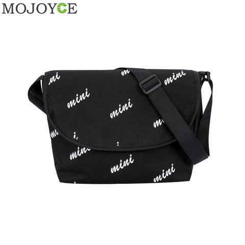 Fashion Unisex Women Men Canvas Crossbody Bags Handbags Casual Shoulder Bag