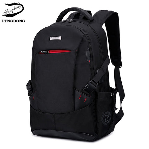 FengDong 2019 Men Backpack Anti Theft Business Laptop Travel Men Shoulder Bag Large Capacity Backpack Male Mochila Bagpack Pack