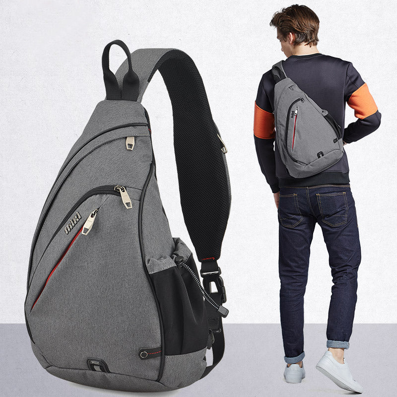 Mixi Men One Shoulder Backpack Bag Boys Work Travel Versatile Fashion Bag Student School University 2019 New Design