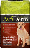 Avoderm Natural Lamb Meal and Brown Rice Formula Adult Dry Dog Food