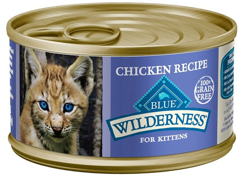 Blue Buffalo Wilderness Kitten Recipe Canned Cat Food