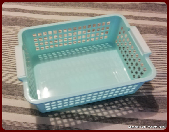 Plastic Basket - 24cm x18cm - Mischief Pet Products