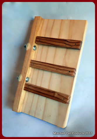 Wooden Ladder - Mischief Pet Products