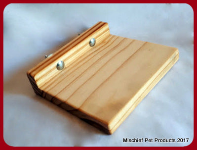 Wooden Ledge - Mischief Pet Products