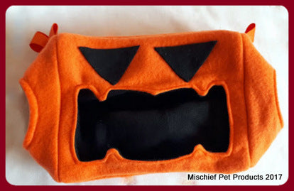 Limited Edition Jack-O'-Lantern Cube - Mischief Pet Products