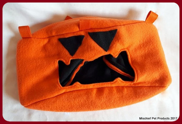 Limited Edition Jack-O'-Lantern Corner Cube - Mischief Pet Products
