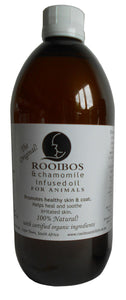 Moringa, Rooibos and Chamomile Infused Oil - Mischief Pet Products