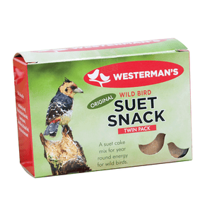 Suet Snack Slab Twin Pack 250g