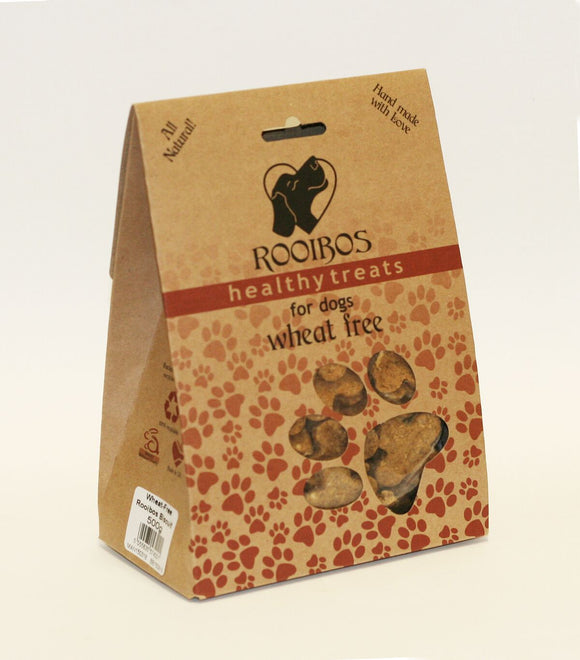 Rooibos Wheat Free Biscuits - Mischief Pet Products
