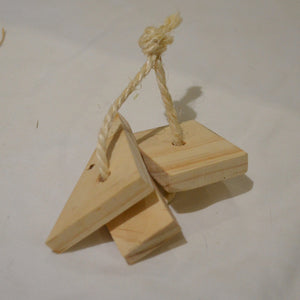 Njom Njoms Wooden Key Toy - Mischief Pet Products
