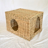 Njom Njoms Woven Hidey Square - Mischief Pet Products