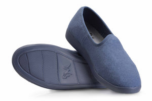 Neemans Merino Wool Aqua Blue Loafer