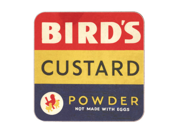 Bird's Custard Coaster