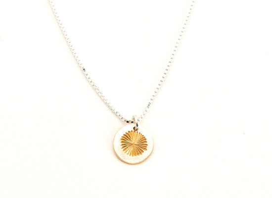 Sunrise Disc Pendant