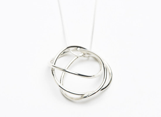 Swirly Circle Pendant