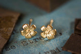 Tiny Enchanted Flower Studs