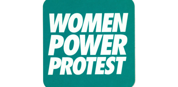 Women Power Protest Coaster